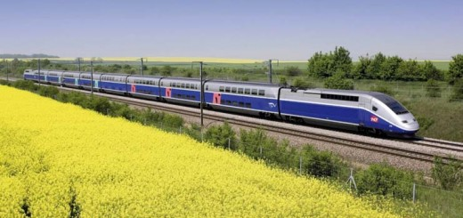 TGV High-Speed Trains from Paris, France